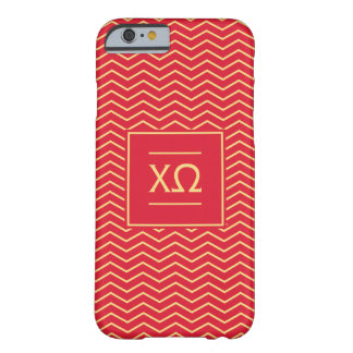 Chi Omega | Chevron Pattern Barely There iPhone 6 Case