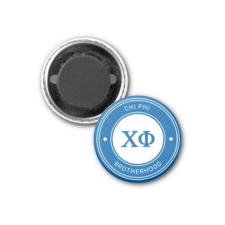 Chi Phi | Badge 1 Inch Round Magnet