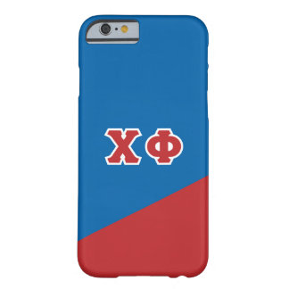 Chi Phi | Greek Letters Barely There iPhone 6 Case