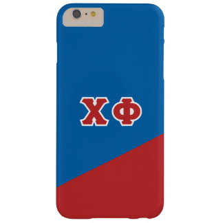 Chi Phi | Greek Letters Barely There iPhone 6 Plus Case