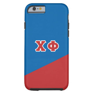 Chi Phi | Greek Letters Tough iPhone 6 Case