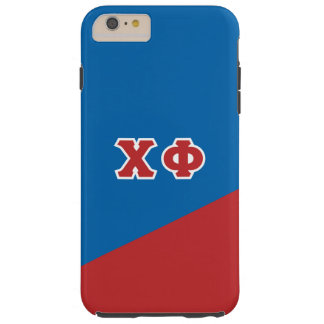 Chi Phi | Greek Letters Tough iPhone 6 Plus Case