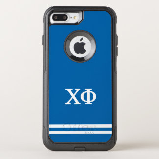 Chi Phi | Sport Stripe OtterBox Commuter iPhone 8 Plus/7 Plus Case