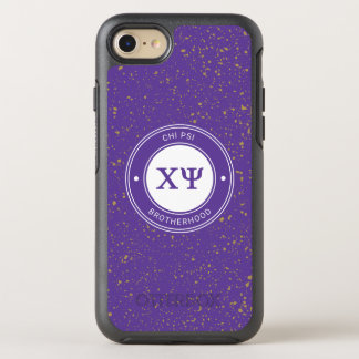 Chi Psi | Badge OtterBox Symmetry iPhone 8/7 Case