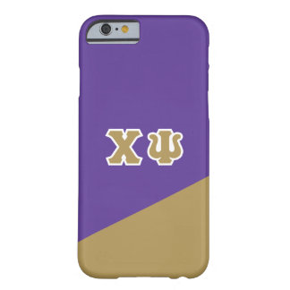 Chi Psi | Greek Letters Barely There iPhone 6 Case