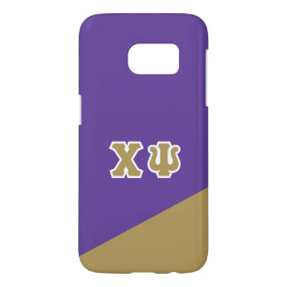 Chi Psi | Greek Letters Samsung Galaxy S7 Case