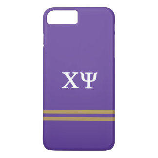 Chi Psi | Sport Stripe iPhone 8 Plus/7 Plus Case