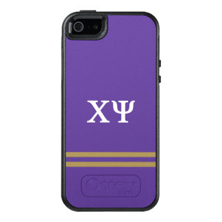 Chi Psi | Sport Stripe OtterBox iPhone 5/5s/SE Case