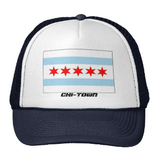 CHI-TOWN FLAG HAT