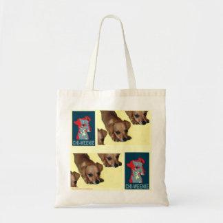 Chi-weenie Tote Bag