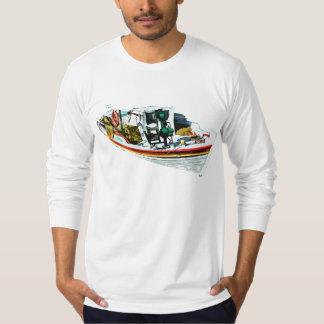 Chian Boat American Apparel Long Sleeve T-Shirt