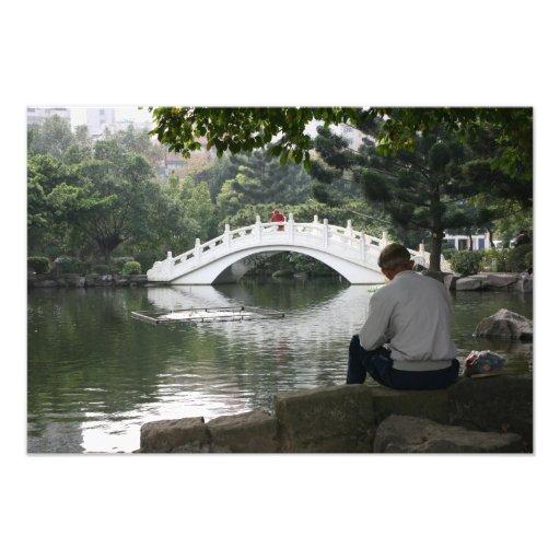 Chiang Kai-shek Memorial Park, Taipei City, Taiwan Photograph