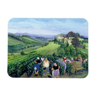 Chianti Landscape Rectangular Photo Magnet