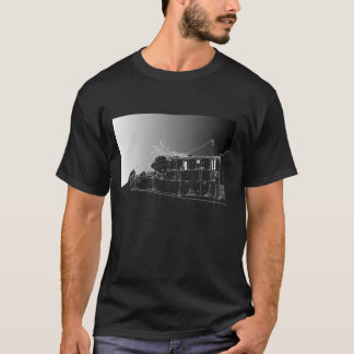 Chiappini Street, Cape Town. Dark Night. T-Shirt