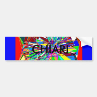 CHIARI BUMPER STICKER