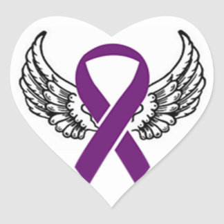 Chiari Wings Heart Sticker