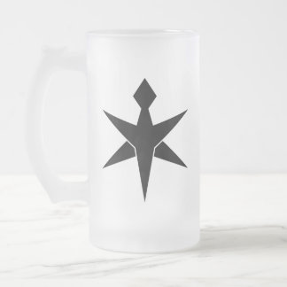 CHiBA SYMBOL Frosted Glass Beer Mug
