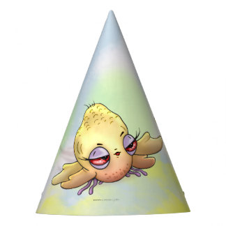 CHIBBITEE BIRD MONSTER ALIEN CARTOON PARTY HAT