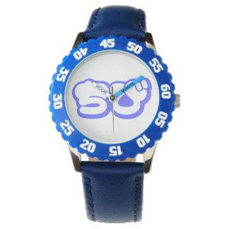 Chibi ちび Japanese Nihongo Hiragana Script Wrist Watch