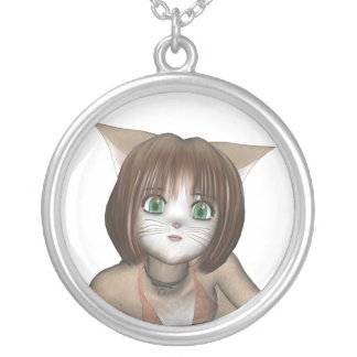 Chibi Anime Kitten Necklace
