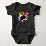 Chibi Batgirl Ready For Action Baby Bodysuit