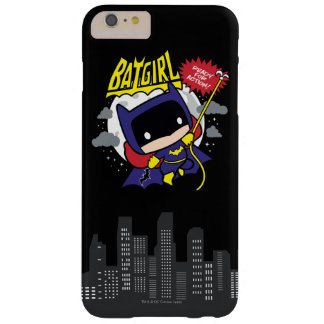 Chibi Batgirl Ready For Action Barely There iPhone 6 Plus Case