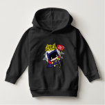 Chibi Batgirl Ready For Action Hoodie