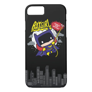 Chibi Batgirl Ready For Action iPhone 8/7 Case