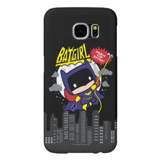 Chibi Batgirl Ready For Action Samsung Galaxy S6 Cases