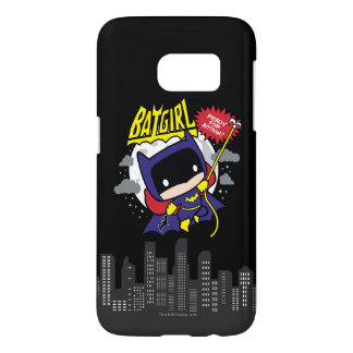 Chibi Batgirl Ready For Action Samsung Galaxy S7 Case