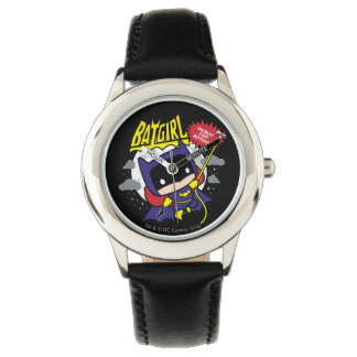 Chibi Batgirl Ready For Action Watches