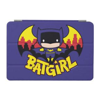 Chibi Batgirl With Gotham Skyline & Logo iPad Mini Cover