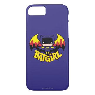 Chibi Batgirl With Gotham Skyline & Logo iPhone 8/7 Case