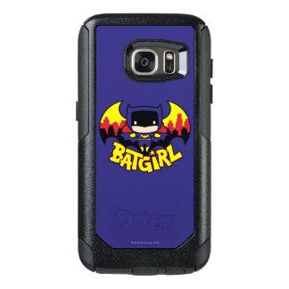 Chibi Batgirl With Gotham Skyline & Logo OtterBox Samsung Galaxy S7 Case