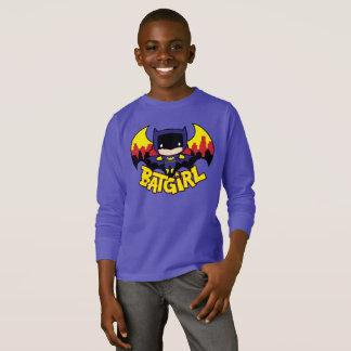 Chibi Batgirl With Gotham Skyline & Logo T-Shirt