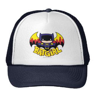 Chibi Batgirl With Gotham Skyline & Logo Trucker Hat