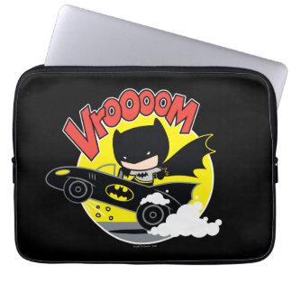 Chibi Batman In The Batmobile Laptop Sleeve