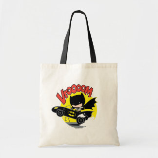 Chibi Batman In The Batmobile Tote Bag