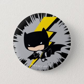 Chibi Batman Lightning Kick 2 Inch Round Button