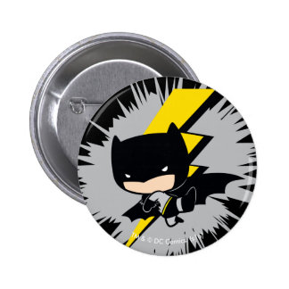Chibi Batman Lightning Kick 2 Inch Round Button