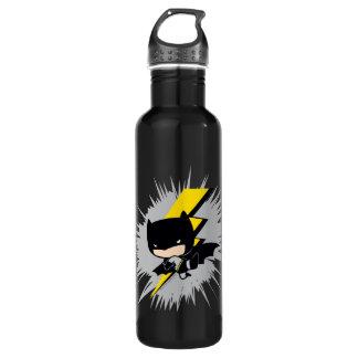 Chibi Batman Lightning Kick 710 Ml Water Bottle