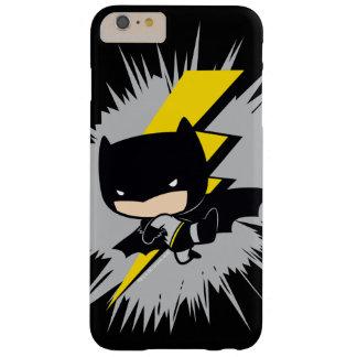 Chibi Batman Lightning Kick Barely There iPhone 6 Plus Case
