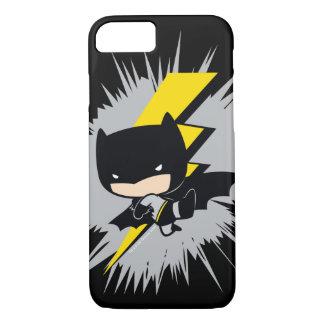 Chibi Batman Lightning Kick iPhone 8/7 Case