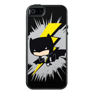 Chibi Batman Lightning Kick OtterBox iPhone 5/5s/SE Case