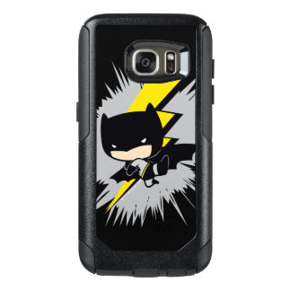 Chibi Batman Lightning Kick OtterBox Samsung Galaxy S7 Case