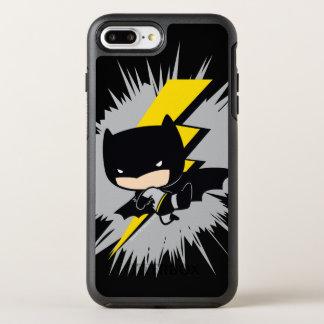 Chibi Batman Lightning Kick OtterBox Symmetry iPhone 7 Plus Case