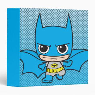 Chibi Batman Running 3 Ring Binders