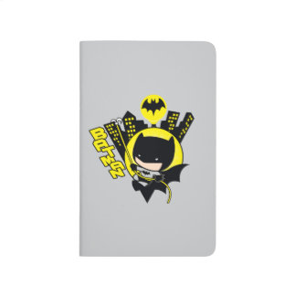 Chibi Batman Scaling The City Journal
