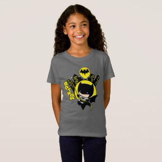 Chibi Batman Scaling The City T-Shirt