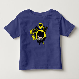 Chibi Batman Scaling The City Toddler T-shirt